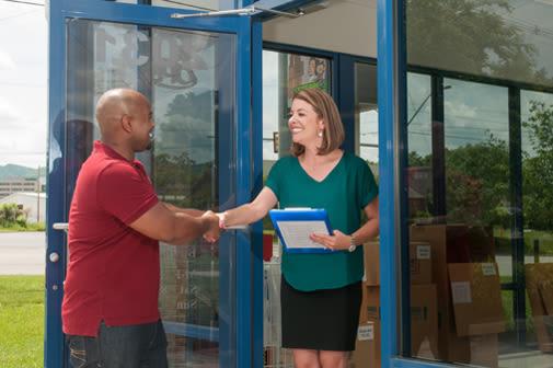 Helping with your storage needs at Virginia Varsity Self Storage