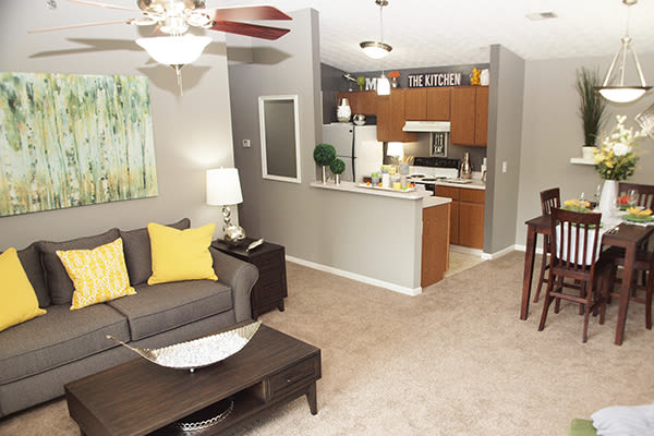 Mallard Landing Apartments offers spacious kitchens