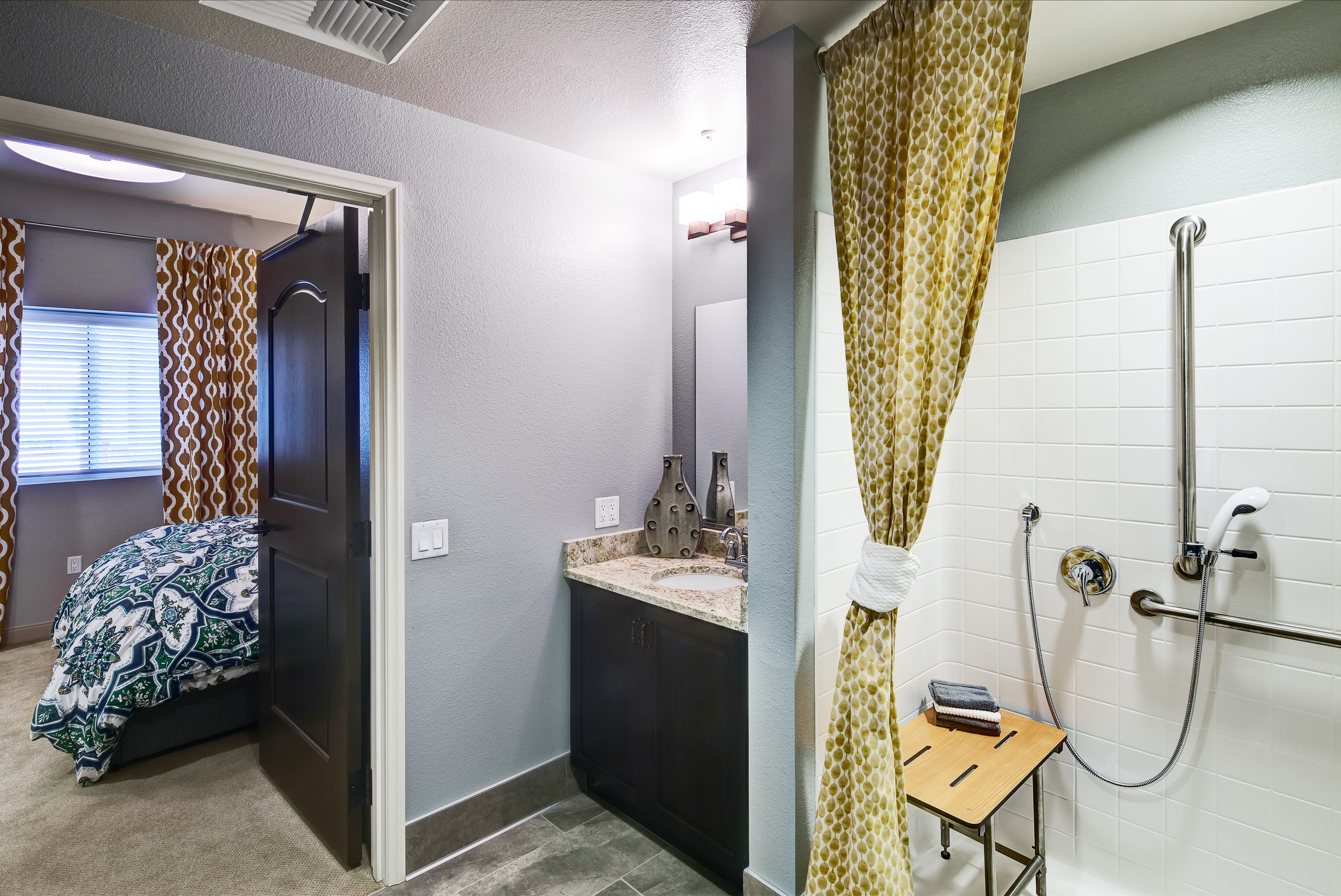 Clearwater at South Bay offers a bathroom in Torrance, California
