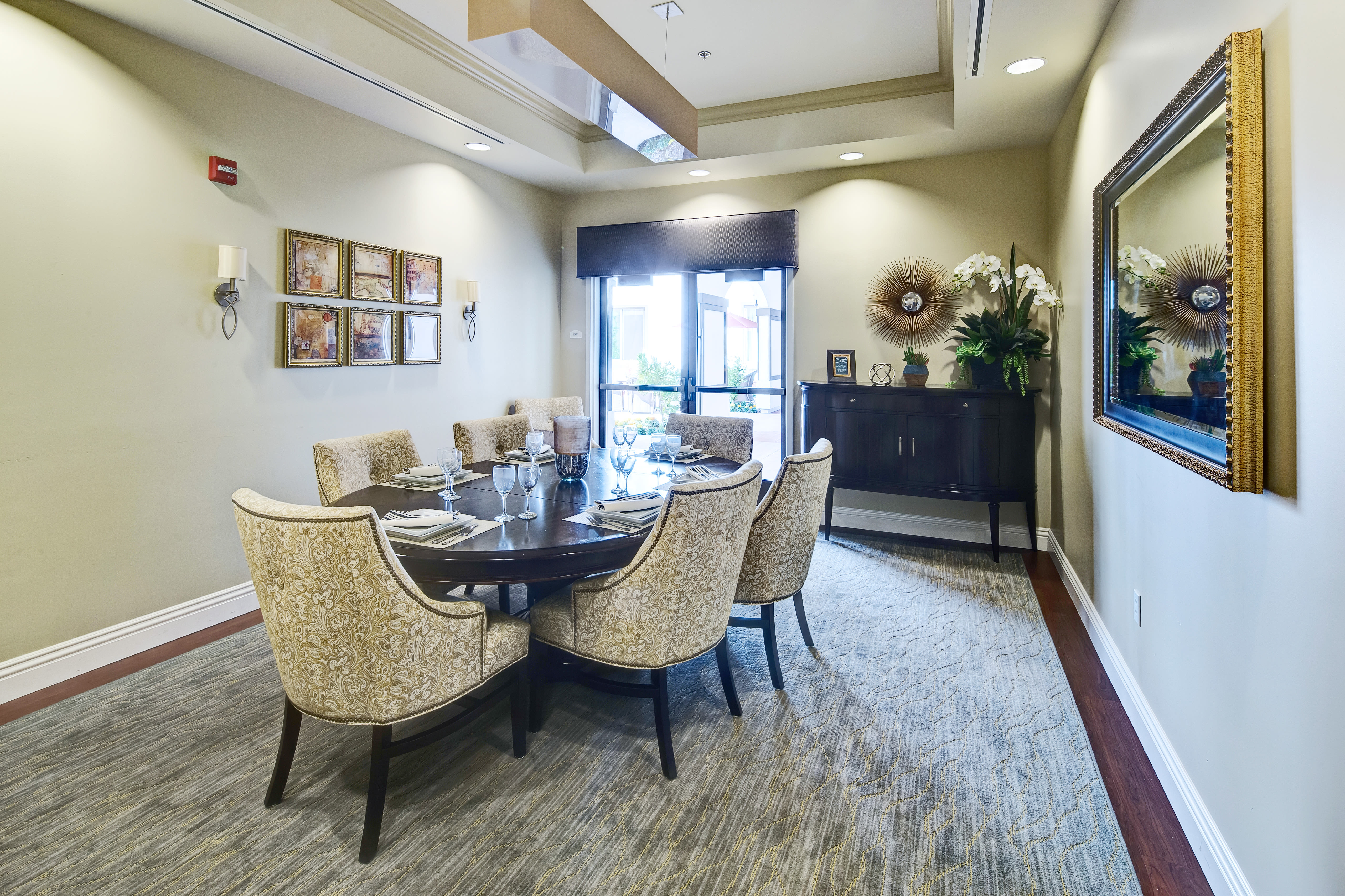 Lounge at Clearwater at South Bay in Torrance, California