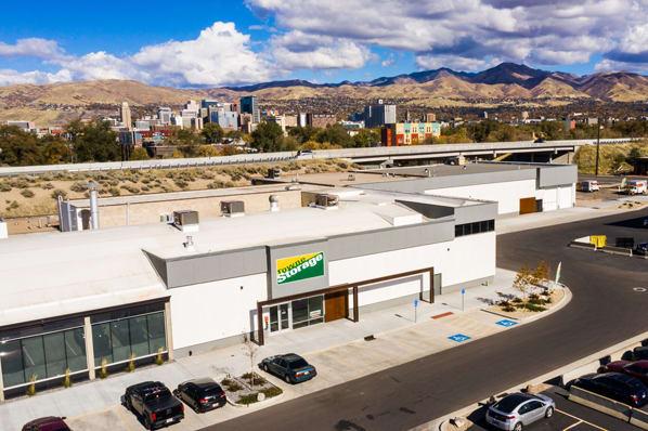 Aerial photo of Towne Storage - Urban Edge in Salt Lake City, UT