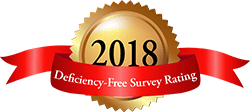 Deficiency-free survey rating