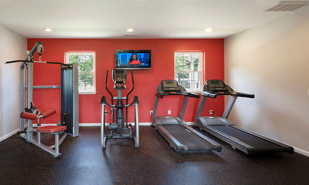 Fitness Center at Eagle Meadows Apartments in Dover