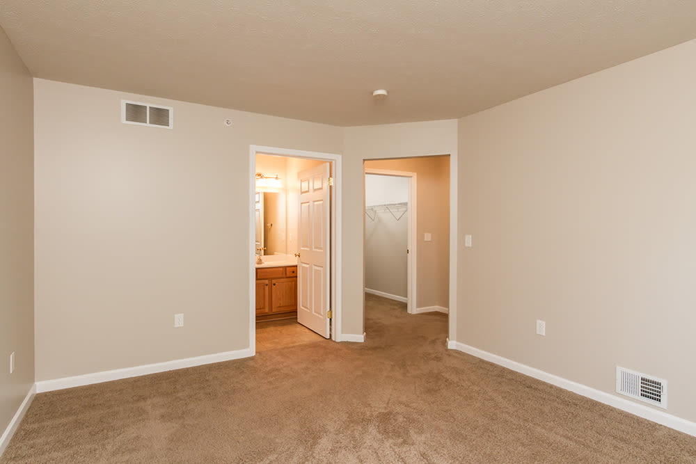 Open floor plan space at North Ponds Apartments home in Webster, New York