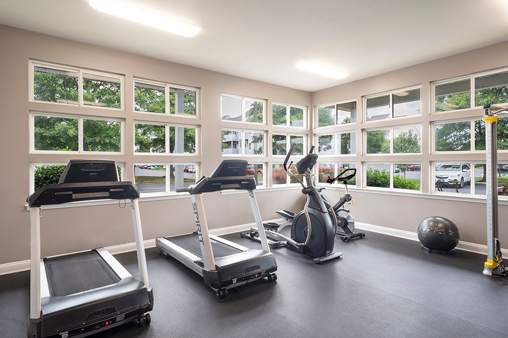 Fitness center at Village of Westover