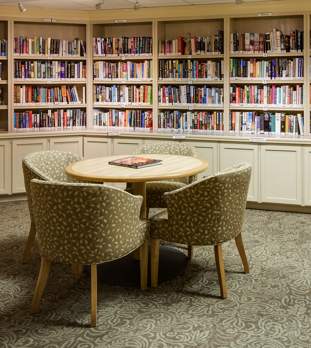 Library at The Reserve at Thousand Oaks in Thousand Oaks, California