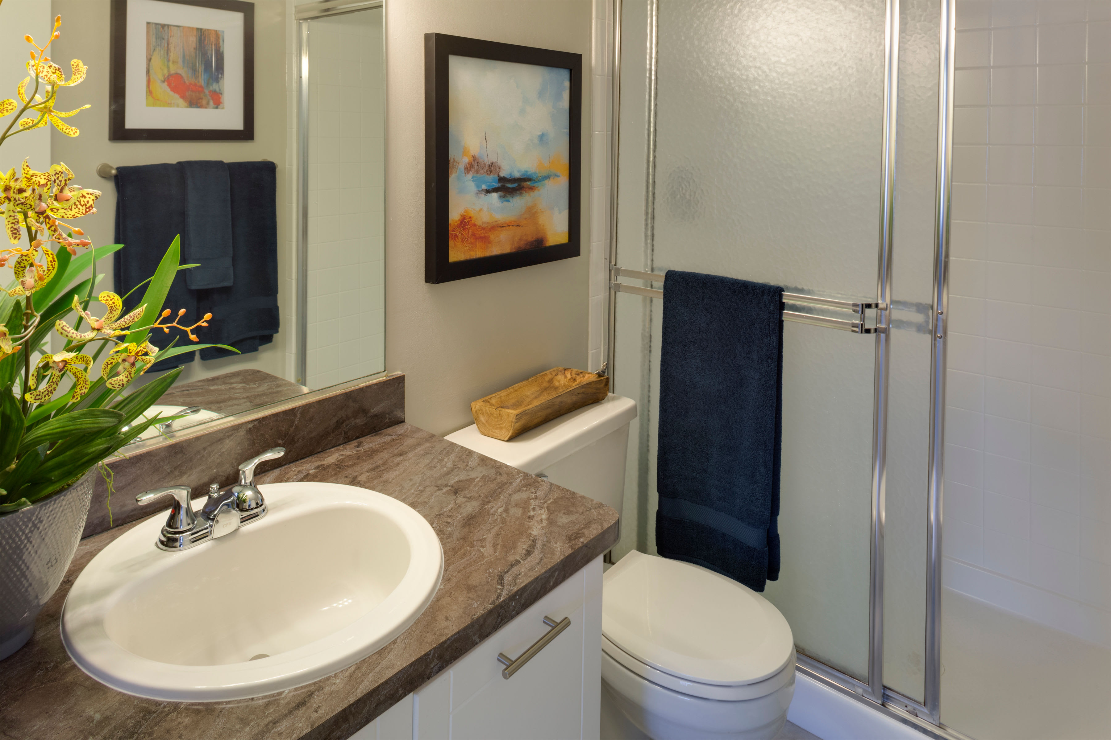 Contemporary bathroom at Verse at Royal Palm Beach in Royal Palm Beach, Florida