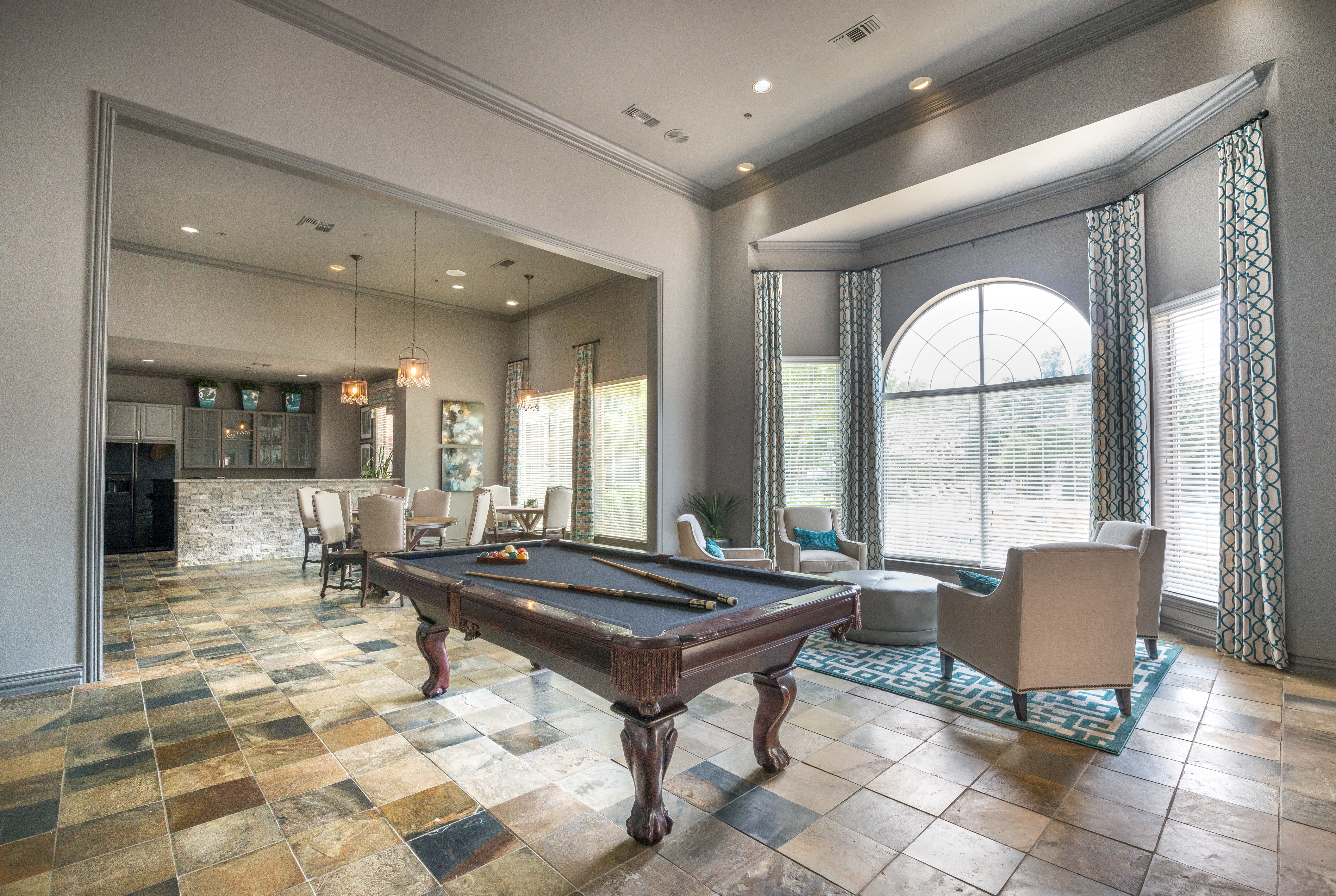 Enjoy a well-equipped fitness center at 23Hundred at Ridgeview in Plano, Texas