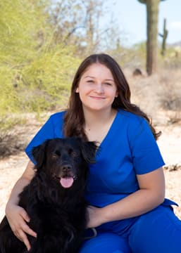 Cassie Syzmanski, Kennel Assistant at Scottsdale Animal Hospital