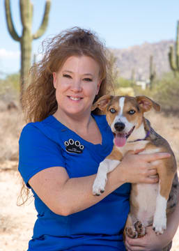 Lisa Casanova at Scottsdale Animal Hospital