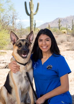 Selina Chagolla at Scottsdale Animal Hospital