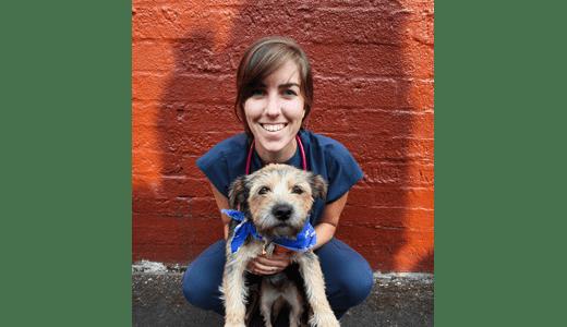 Dr. Laura Mulshine at Pet Samaritan Clinic