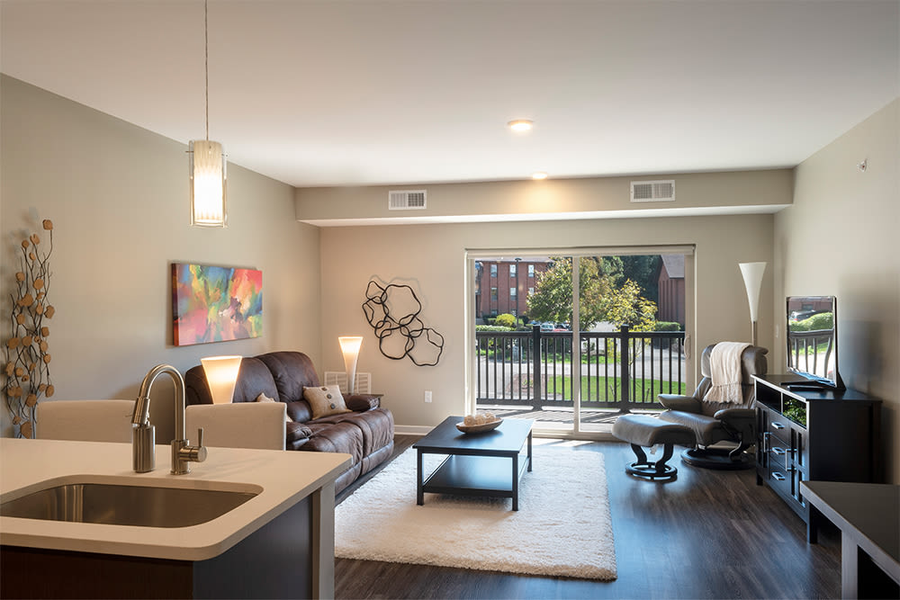 Natrually well-lit apartments in Pittsburgh, Pennsylvania