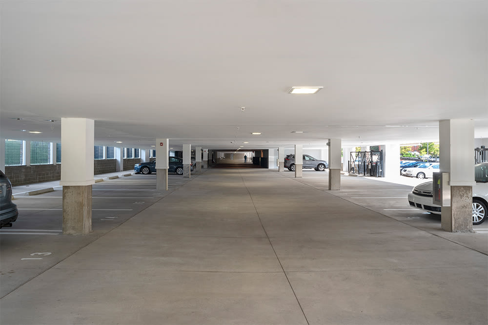 Our apartments in Pittsburgh, Pennsylvania offer a garage