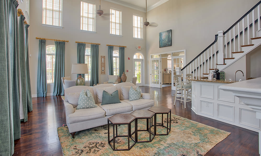 Our apartments in Charlotte, North Carolina showcase a beautiful clubhouse