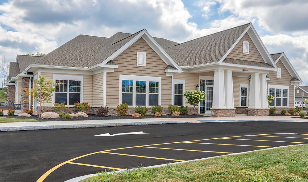 Clubhouse at Fairview at Town Center in Rochester, New York