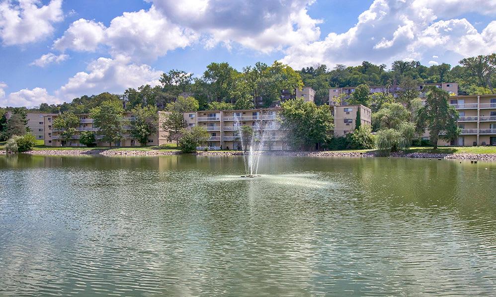 Scenic views at apartments in Cincinnati, Ohio