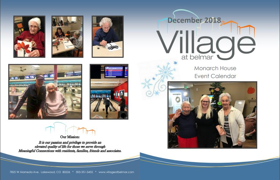 Learn more about our memory care events at Village at Belmar