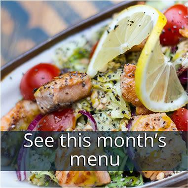 See this months menu at Kingston Bay Senior Living in Fresno, California