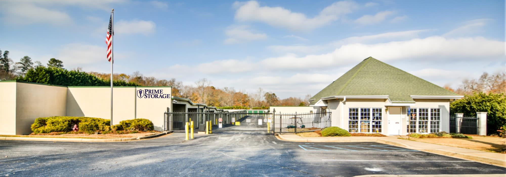 Prime Storage in Greenville, South Carolina