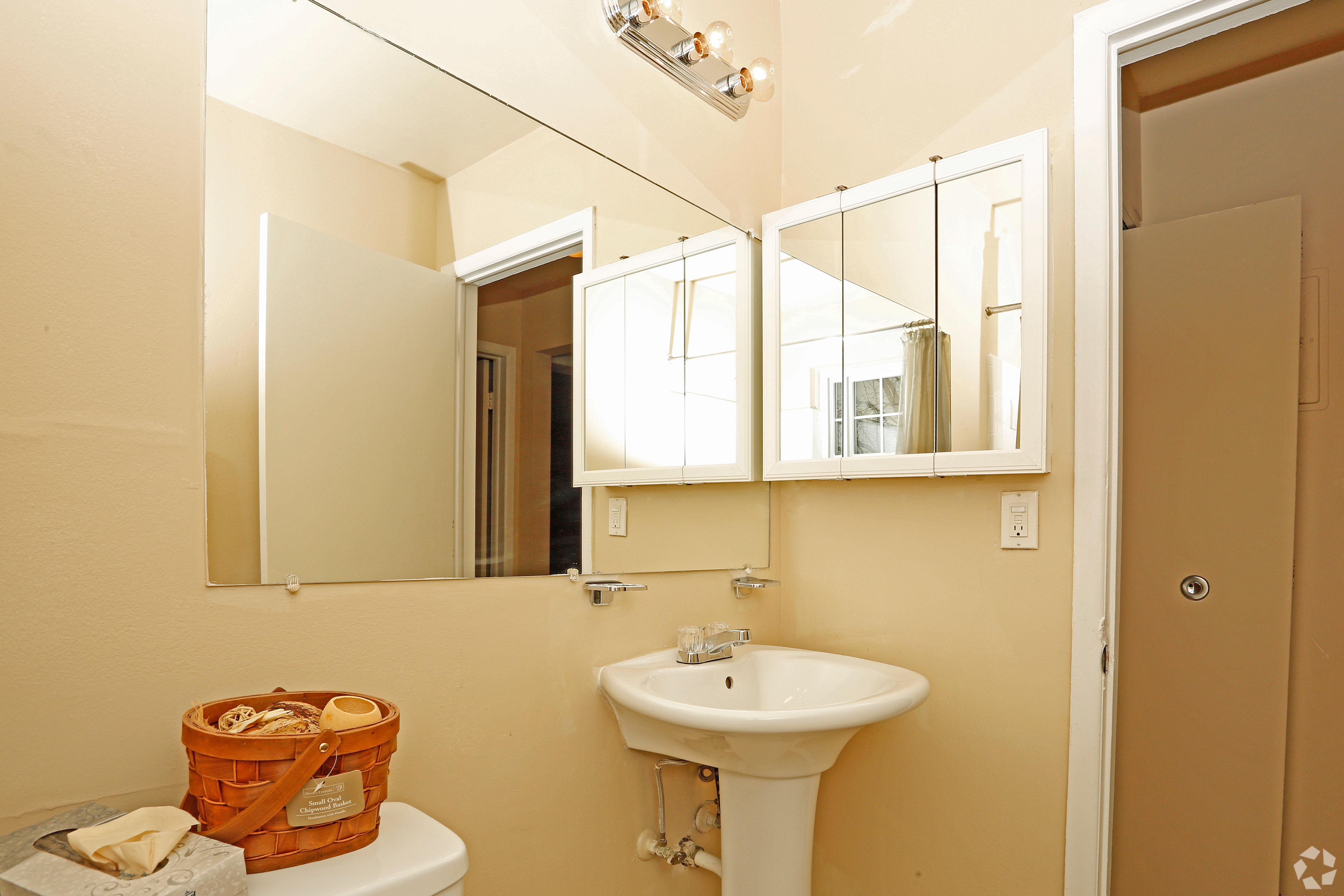 Our unique Hoover Square Apartments apartments in Warren, Michigan showcase a bathroom