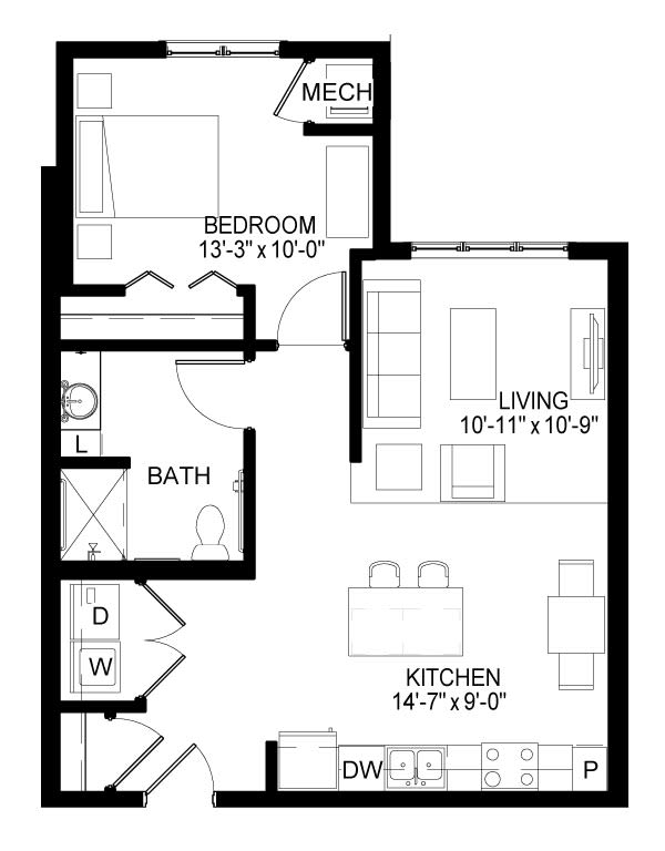 Avon Floor Plan