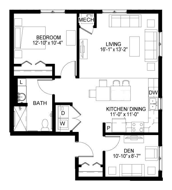 Hamline Floor Plan