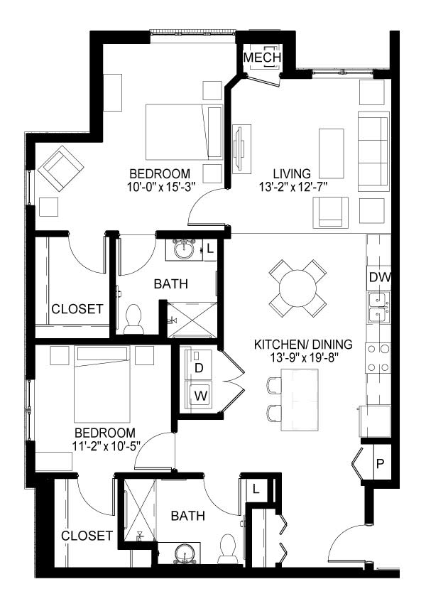 Juliet Floor Plan
