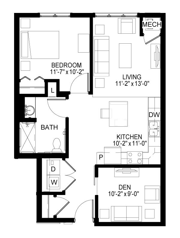 Kellogg Floor Plan