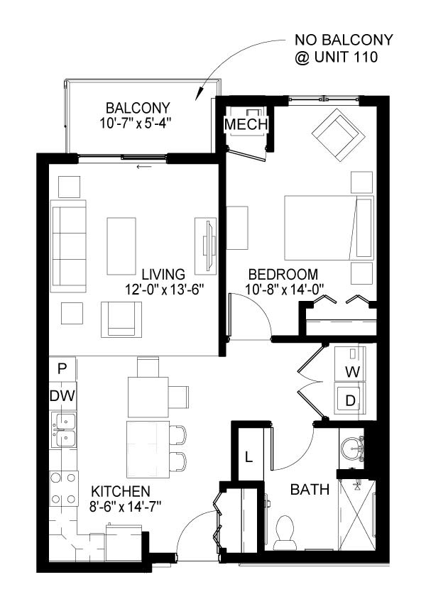 Laurel A Floor Plan