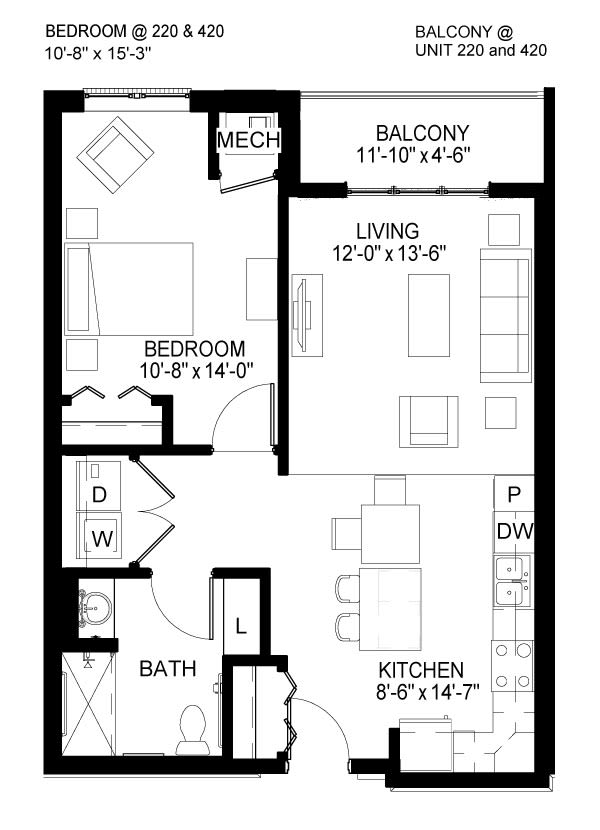 Laurel B Floor Plan