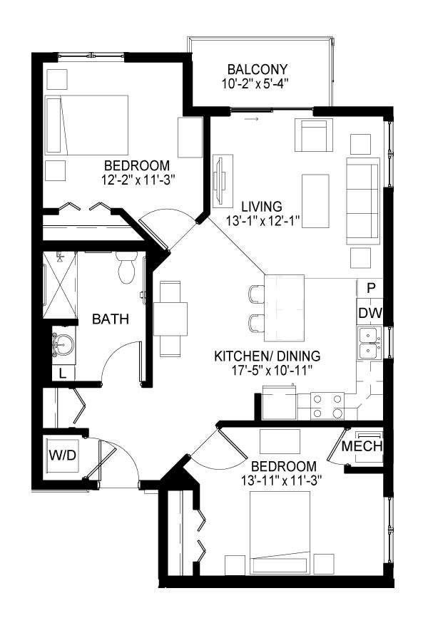 Marshall Floor Plan