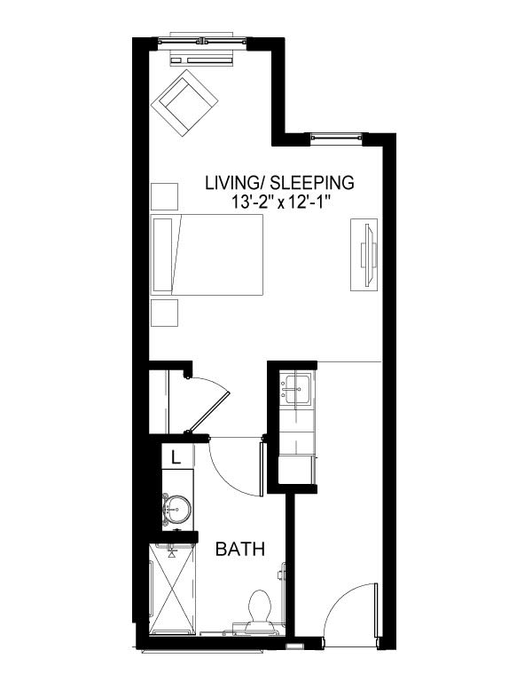 Memory Care C Floor Plan