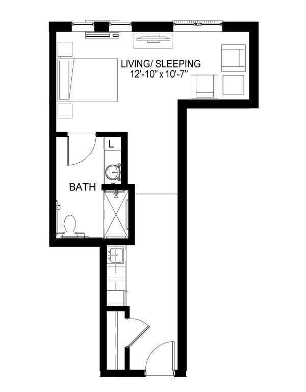 Memory Care D Floor Plan