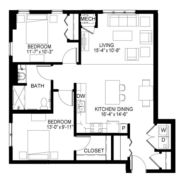 Selby Floor Plan