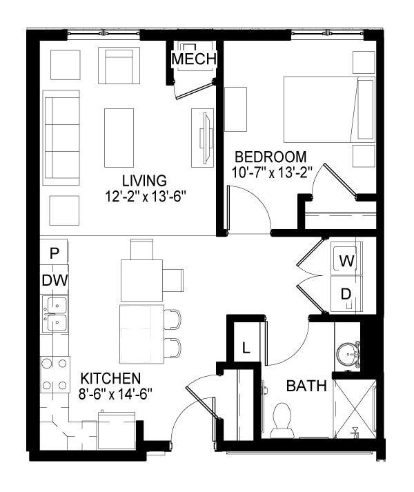 St.Clair Floor Plan