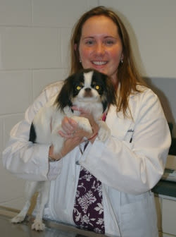 Jessica Latham at Willow Run Veterinary Clinic in Willow Street, Pennsylvania