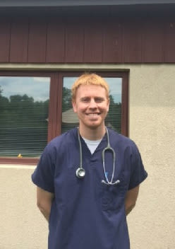 Dr. John Reese at Willow Run Veterinary Clinic in Willow Street, Pennsylvania