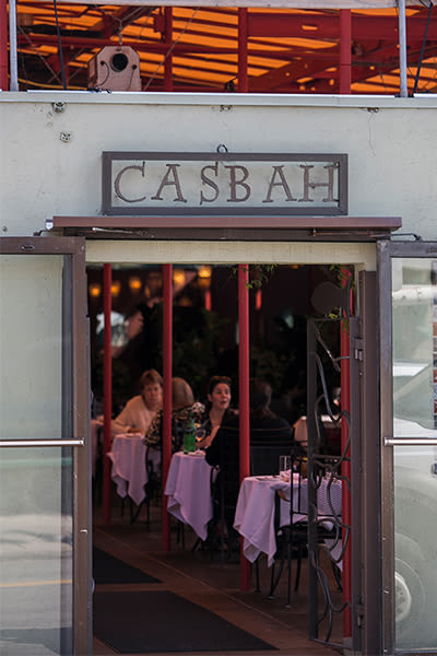 Casbah restaurant in Pittsburgh