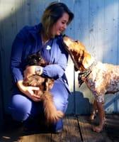 Nina at Bloomington Animal Hospital