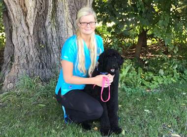 Paige at Stoughton Veterinary Service Animal Hospital