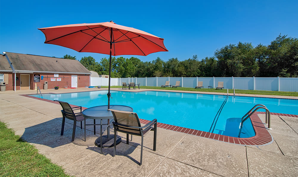 Swimming pool at The Reserve at Copper Chase in York, PA