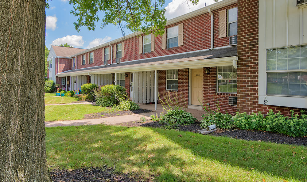Exterior view of apartments in York PA