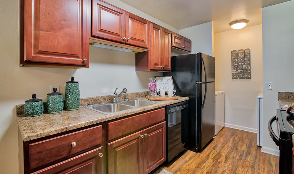 Nice clean kitchen in our York, PA apartments