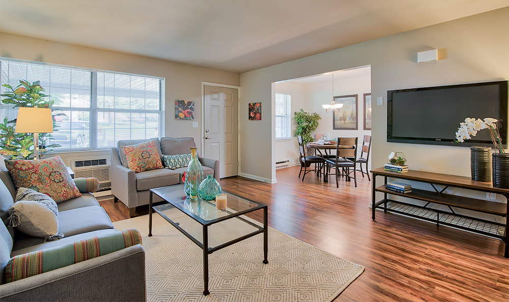 Comfortable living room in our York, PA apartments