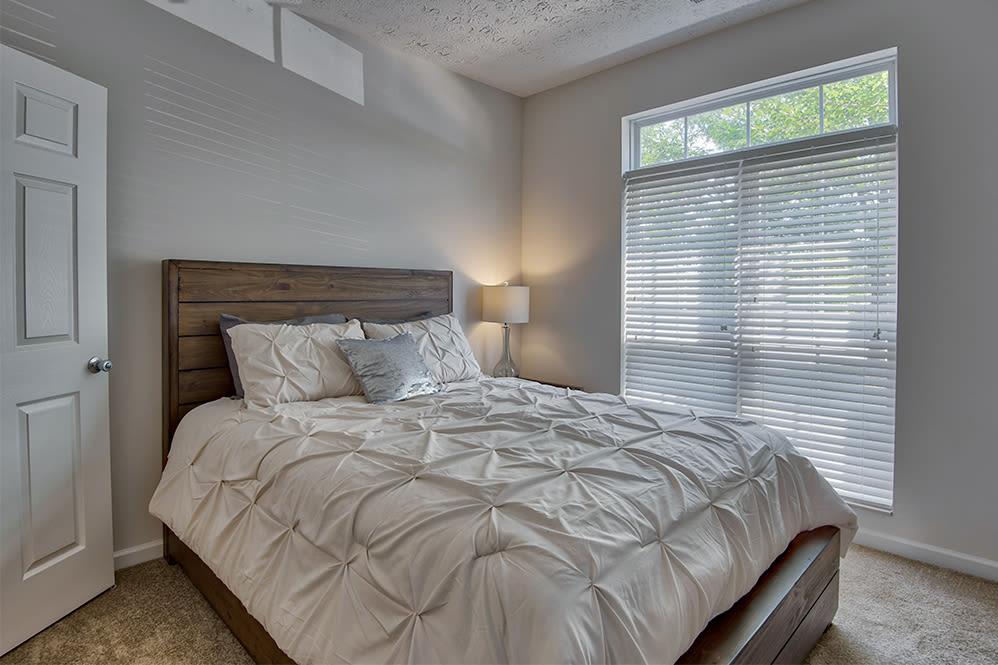 Bedroom at apartments in Perrysburg, Ohio