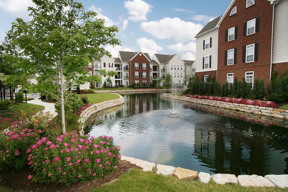 Fountains at Preston Gardens in Perrysburg