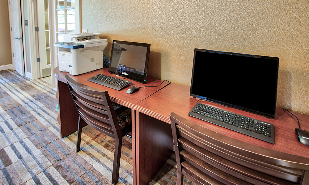 Business center at apartments in Canonsburg, Pennsylvania
