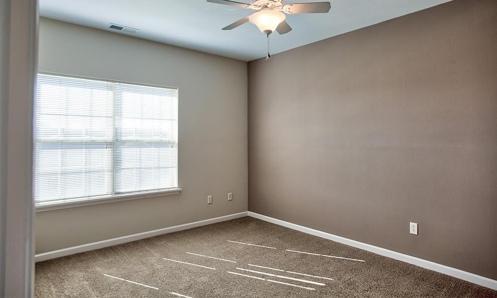 Bedroom at apartments in Canonsburg, Pennsylvania