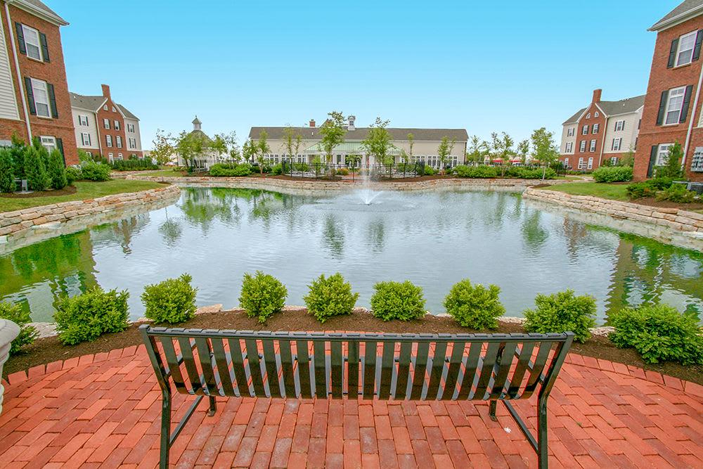 Pond at Preston Gardens in Perrysburg
